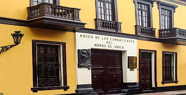 Tour al Museo de los Combatientes del Morro de Arica en Lima