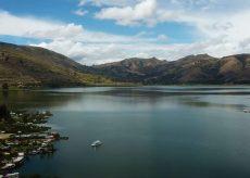 Vista de la Laguna de Paca en Junín