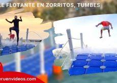 muelle flotante de zorritos en tumbes Perú