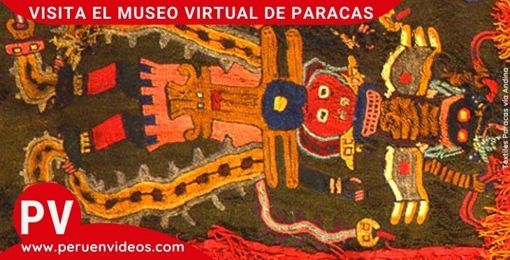 Visita al Museo Virtual de Paracas, Julio C. Tello