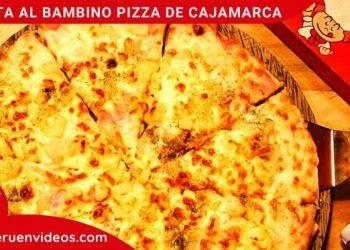 Visita a la pizzería Bambino Pizza de Cajamarca, Perú