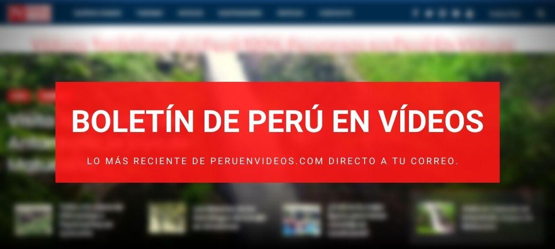 Boletín informativo de turismo en Perú en Vídeos