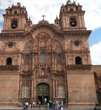 Iglesia de la Compañía de Jesús en Cusco.