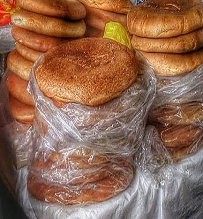 Tradicional pan chuta de Oropesa en Cusco