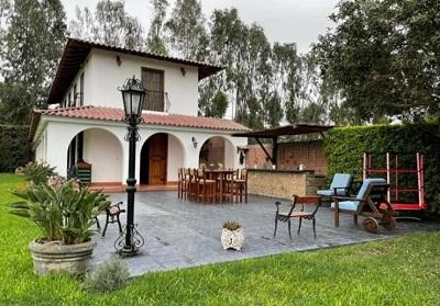 Casa José Gálvez de Pachacámac en el post de Casas de campo cerca a Lima.