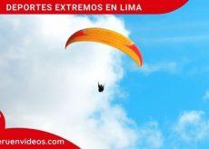 Deportes extremos en Lima