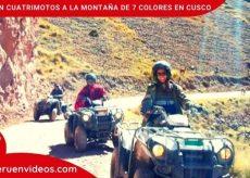 Tour cuatrimotos en Cusco por la Montaña de 7 Colores
